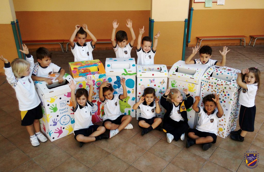 Reciclado papel Kinder