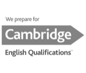 Cambridge (logo blanco y negro)
